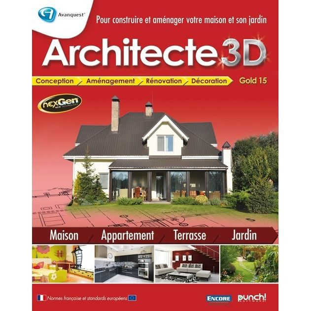 Log pc micro application architecte 3d g prix pas cher for Architecte 3d micro application gratuit