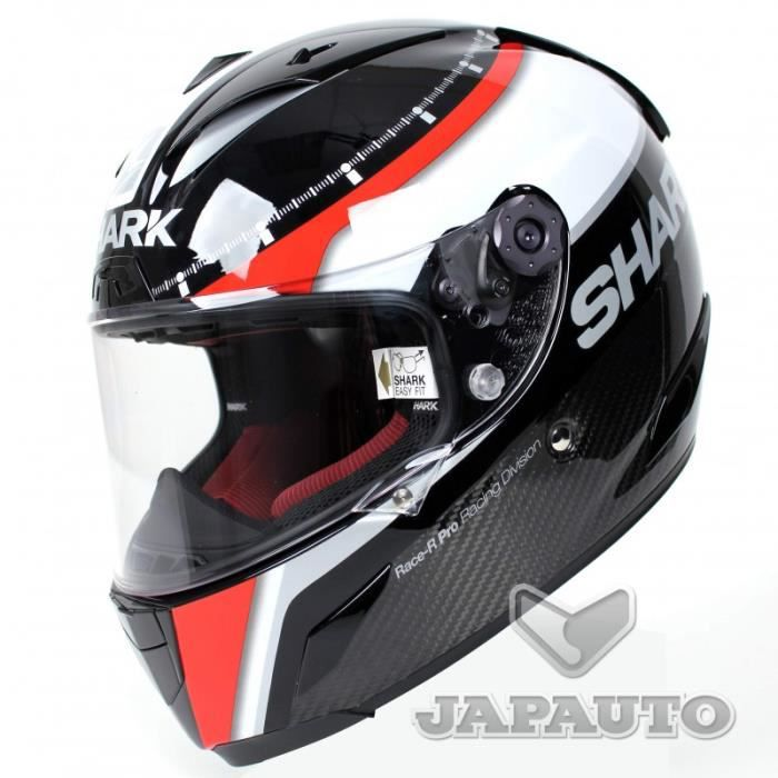 casque shark race r pro carbon n achat vente casque moto scooter casque shark race r pro. Black Bedroom Furniture Sets. Home Design Ideas