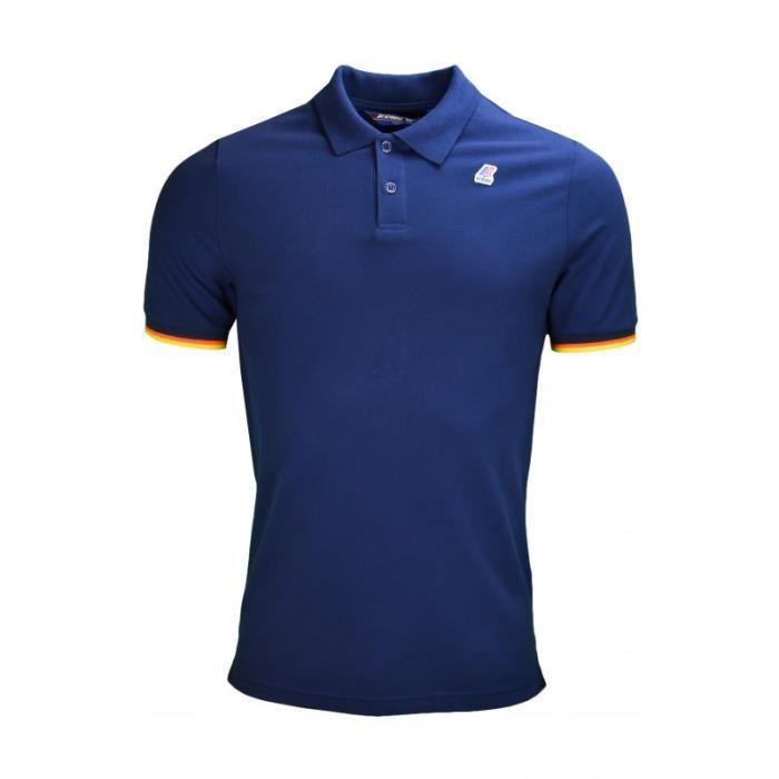 POLO Polo K-Way Vincent bleu marine pour homme