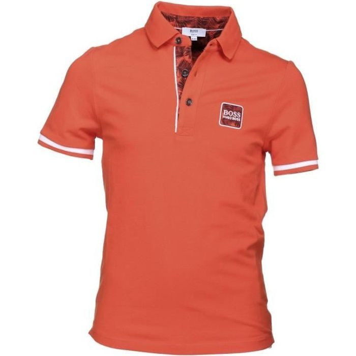 Polo Hugo Boss Cadet - J25C38-412 Orange
