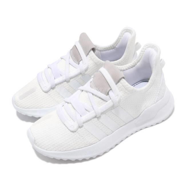 chaussure adidas path run blanche
