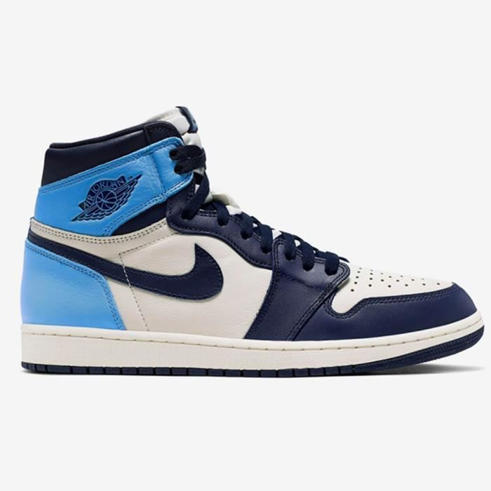 basket air jordan 1 obsidian