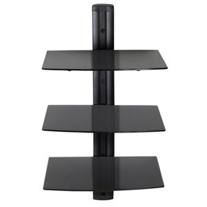 support mural tv avec etagere achat vente support. Black Bedroom Furniture Sets. Home Design Ideas