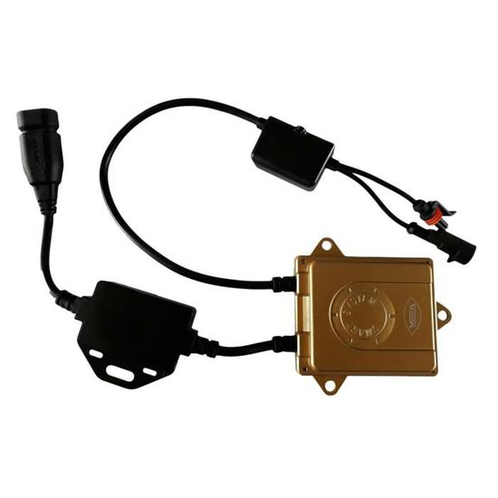 1 ampoule HID X/énon marque FRANCAISE Vega/® H9 10000K 55W /à embase coud/ée haut de gamme