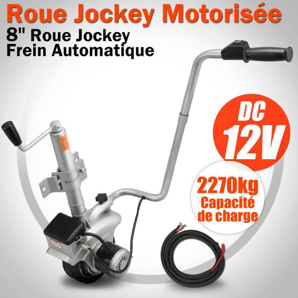 2270kg roue jockey motoris e remorque caravane v hicule camion voiture electrique mover achat. Black Bedroom Furniture Sets. Home Design Ideas