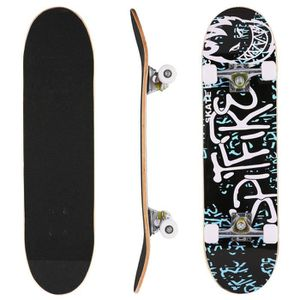 SKATEBOARD - LONGBOARD Skateboard complet érable adulte enfant Skate - bo