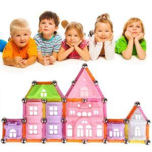 BOÎTE À FORME - GIGOGNE 98pcs 3D maison de blocs de construction gigogne m
