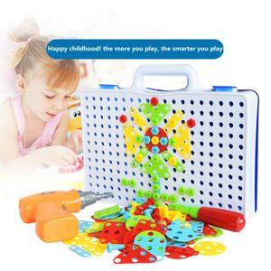 BRICOLAGE - ÉTABLI Enfants Drill Toy construction 3D Vis désassemblag