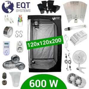 KIT DE CULTURE Pack Tente 600W 120x120 - ETI + Supacrop