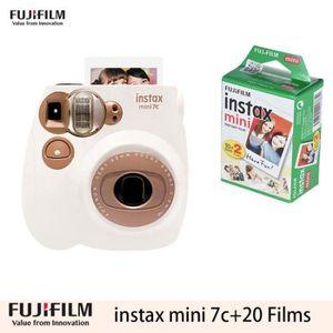PACK APPAREIL COMPACT Fujifilm Appareil instantané Instax Mini 7c marron