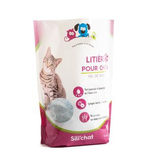 litiere chat silice biodegradable