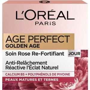 ANTI-ÂGE - ANTI-RIDE L'OREAL PARIS Crème Age Perfect Golden - 50ml