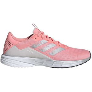 chaussures adidas rouge femme