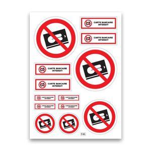 Stickers CB carte bleue Monopoly pour carte bancaire