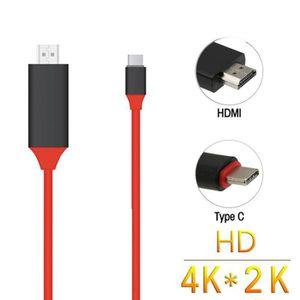 CÂBLE INFORMATIQUE USB 3.1 Type C USB-C a 4K HDMI HDTV Cable Pour Sam