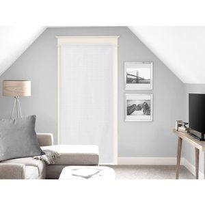 VOILAGE SOLEIL D'OCRE Voilage Noémie - 70 x 200 cm - Blanc