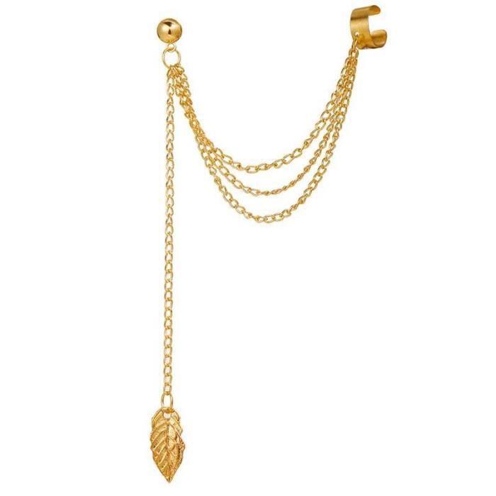 Ensemble de boucles d'oreilles à Clip pour femmes, sans Piercing, Punk Hip Hop, accessoires de bijoux à la mode, cadeau [06DA5B1]
