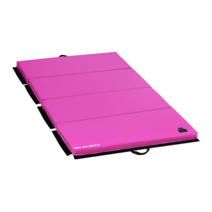 Tapis De Gymnastique Yoga Fitness Matelas Sport Entrainement Pliable 200x100x5cm