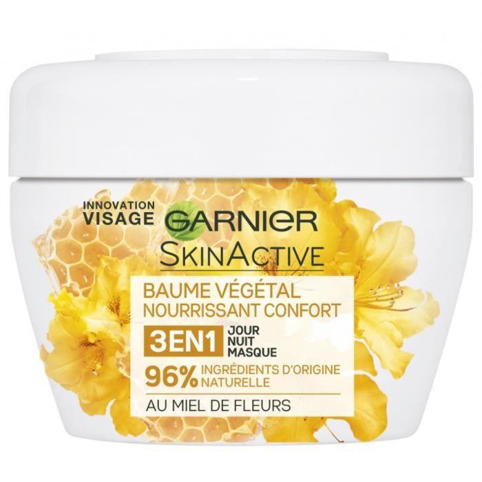 Baume Végétal Nourrissant Confort 3 en 1 au Miel de Fleurs de Garnier