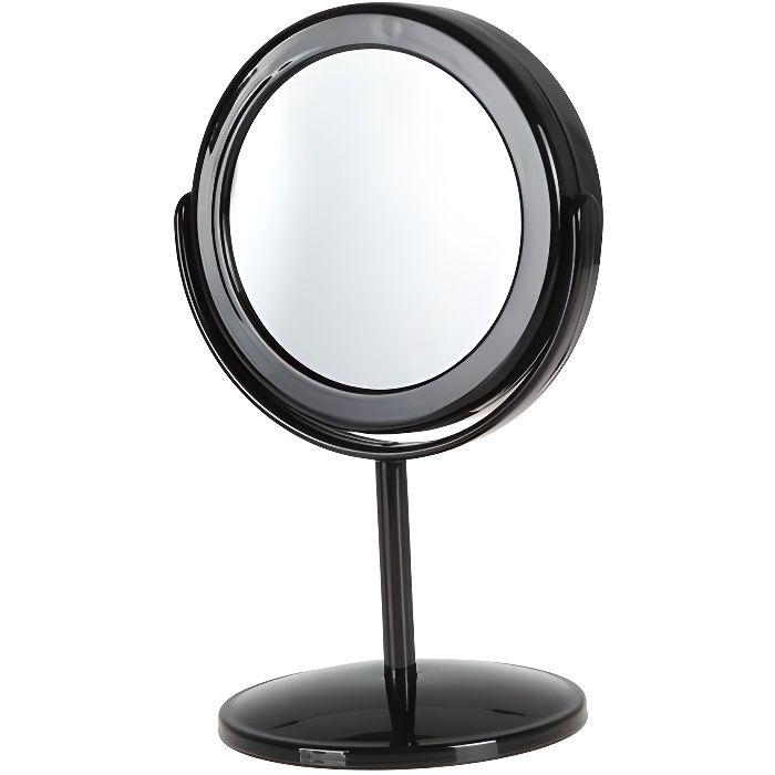 Miroir sur pied avec caméra espion détection de mouvement * Batterie interne : lithium-ion * Autonomie : jusqu'à 3 heures *