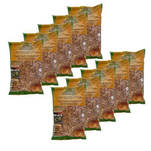Lot 10X Oignon frit croustillant - sachet 500g - Offre antigaspi date courte ou dépassée 29/09/21