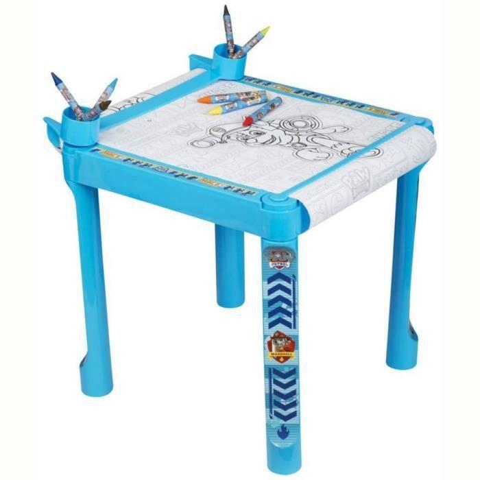 TABLE DE DESSINS PAW PATROL