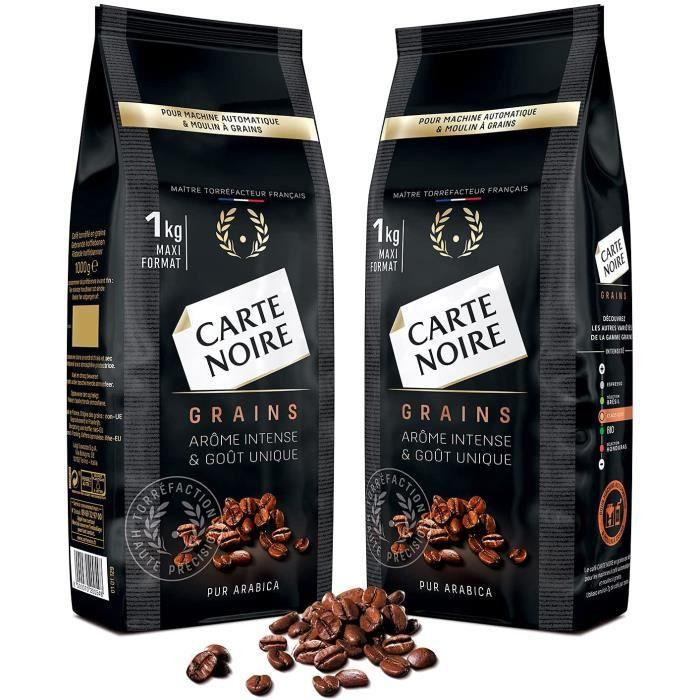 Carte Noire Café Grains - 2kg Classique (2 paquets de 1kg)45