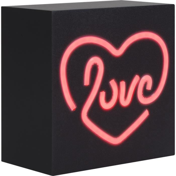 Enceinte Neon Bluetooth LOVE