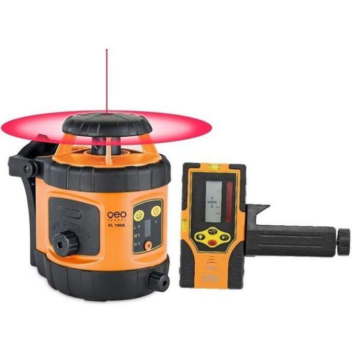 Geo Fennel - Niveau laser rotatif automatique portée 400m autonomie 20h - FL 190A