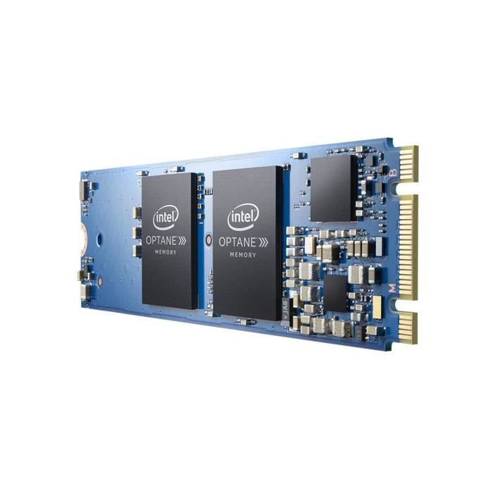 INTEL Accélerateur de stockage Optane M10 - M.2 2280 Interne - 16 Go - PCI Express 3.0 x2 - 900 Mo/s