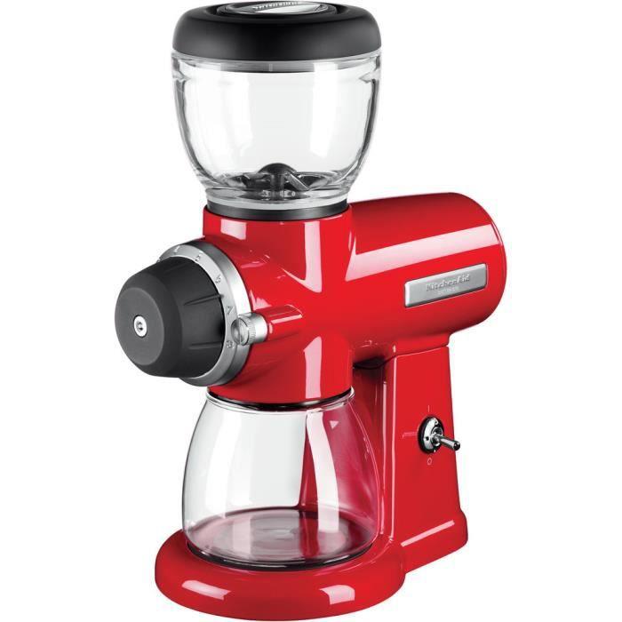 Kitchenaid - broyeur à café 200g 220w rouge empire - 5kcg0702eer
