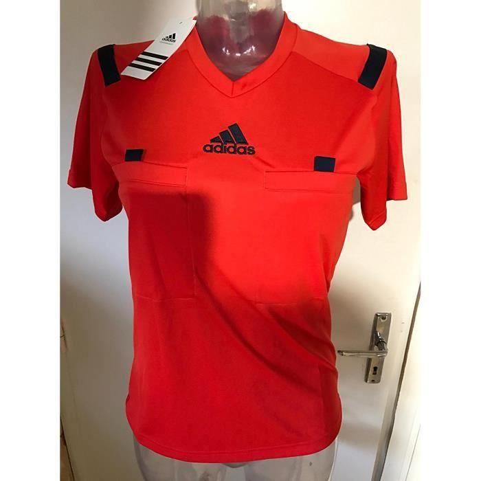 Adidas maillot football Arbitre femme rouge neuf