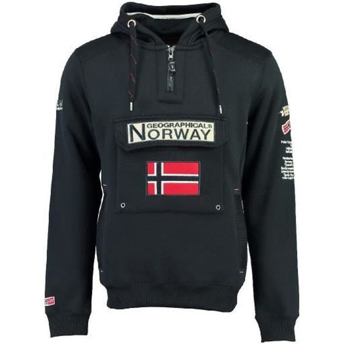 Sweat Homme Geographical Norway Gymclass New Marine