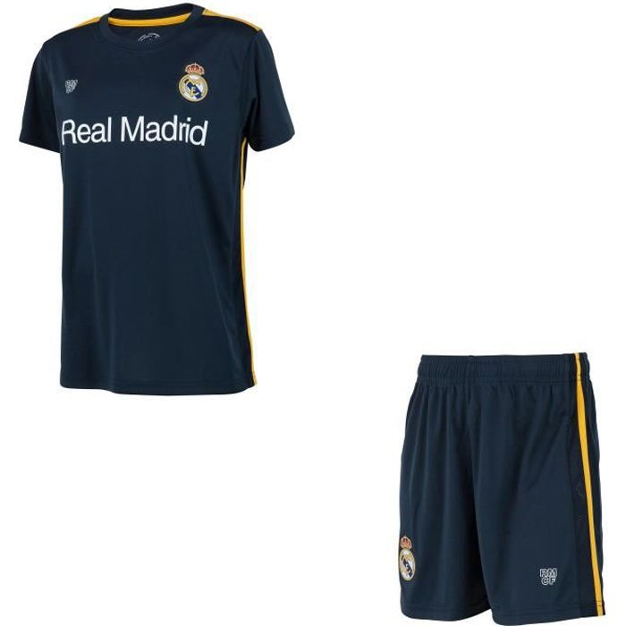 Minikit maillot + short Real Madrid - Collection officielle - Enfant