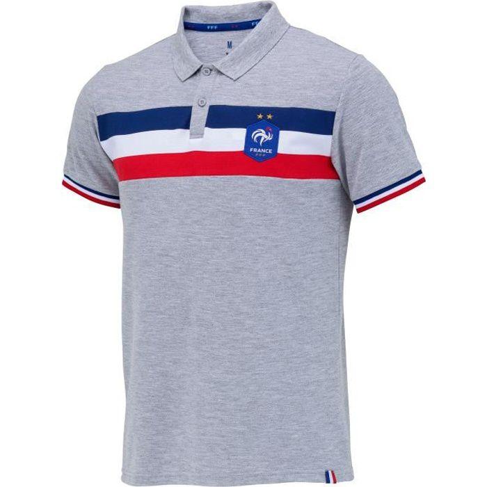 Polo FFF - Collection officielle EQUIPE DE FRANCE - Homme