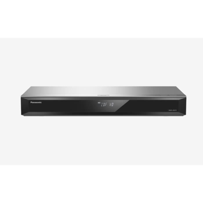Panasonic DMR-UBS70EGS, Argent, Enregistreur Blu-Ray, BD-R,BD-R DL,BD-RE,BD-RE DL,CD,CD-R,CD-RW,DVD,DVD+R,DVD+R DL,DVD-R,DVD-R DL