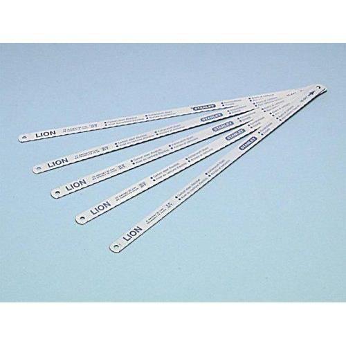 Stanley 0-15-801 Lame de scie à métaux Carte 5 Lames flexible Lion 8-10-12 Dents