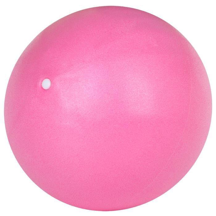TRIXES Ballon PVC Mousse Rose pour Aider Pilates Exercice Renforcement Yoga Entraînement Gym
