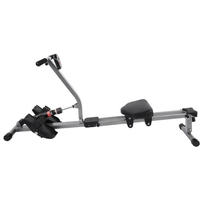 YOSOO rameur de fitness Machine à ramer en acier Cardio Rower Workout Body Training Home Gym Accessoire de Fitness