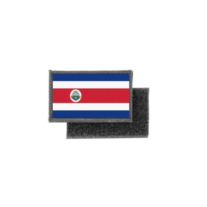 Patch ecusson imprime badge drapeau lettonie