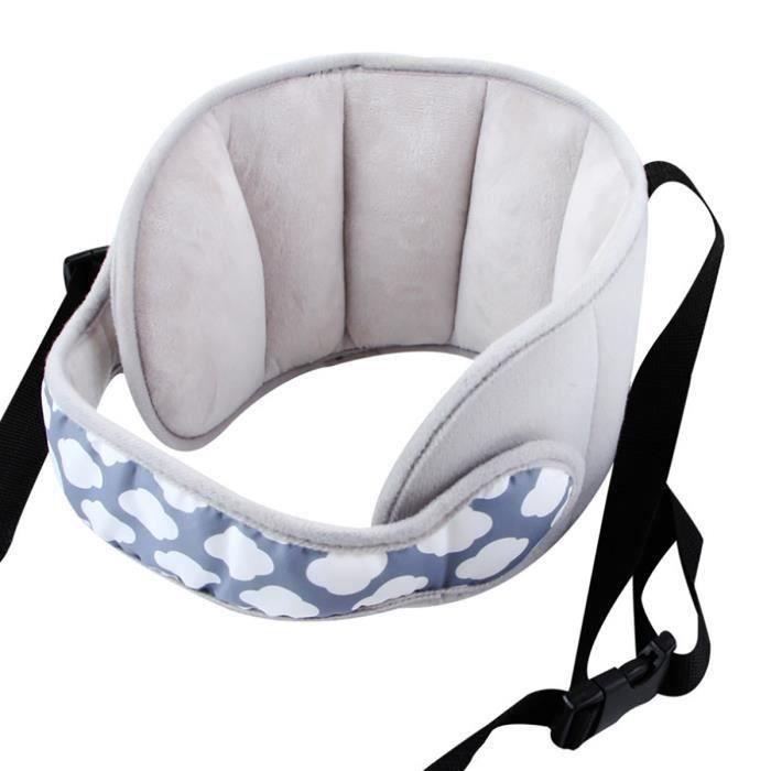 Support de cou pour si/ège auto Carseat Ceinture avec support de sommeil pour poussette en forme de U offre une protection pour les enfants