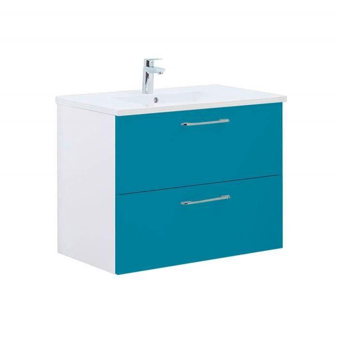 Ensemble meuble salle de bain Bleu