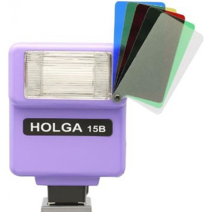 Flash holga 15b violet achat vente flash cdiscount - Ventes flash cdiscount ...