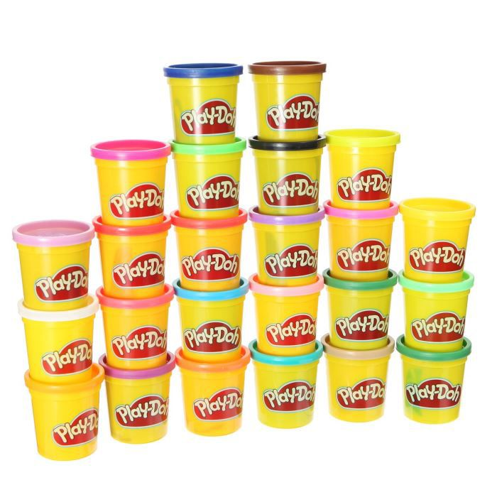 play doh p tes modeler 24 pots a partir de 3 ans mixte achat vente jeu de p te. Black Bedroom Furniture Sets. Home Design Ideas