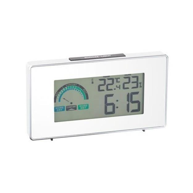 Auv thermomètre chargement USB Radio-réveil radio-piloté avec  hygromètre