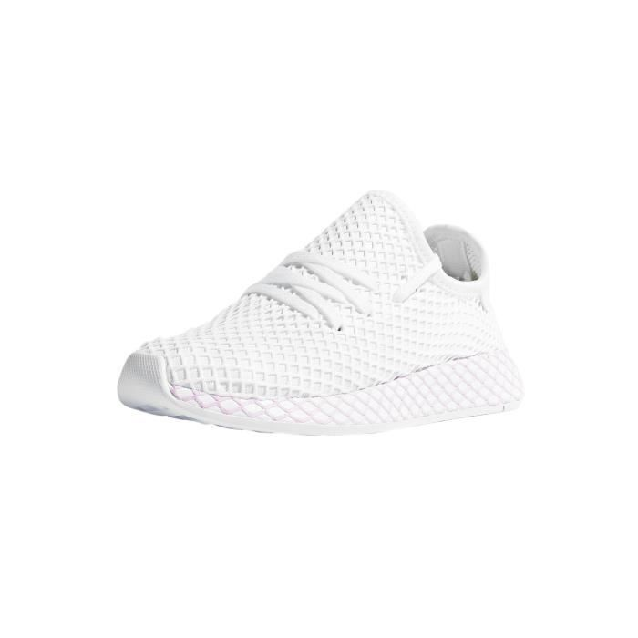 Adidas originals Femme Chaussures / Baskets Deerupt Blanc ...