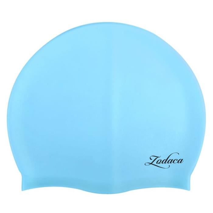 zodaca bonnet de bain natation piscine en silicone pour. Black Bedroom Furniture Sets. Home Design Ideas