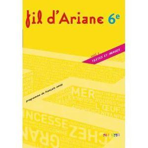 Francais 6e Fil D Ariane Achat Vente Livre Odile Marais