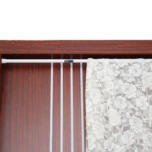 LANCE-RIDEAU Tringle rail à rideau Télescopique à Fixation ride