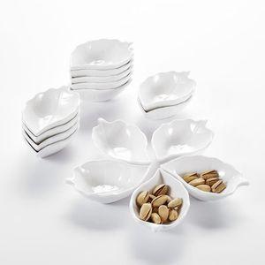 RAMEQUIN - RAVIER MALACASA Série Ramekin Dish, 16pcs Bols à Sauce Sa